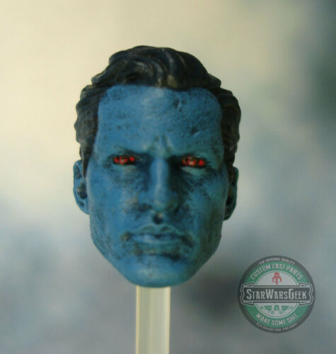 "ML192 Grand Admiral Thrawn head use with 6/"" Star Wars Black Series figures"
