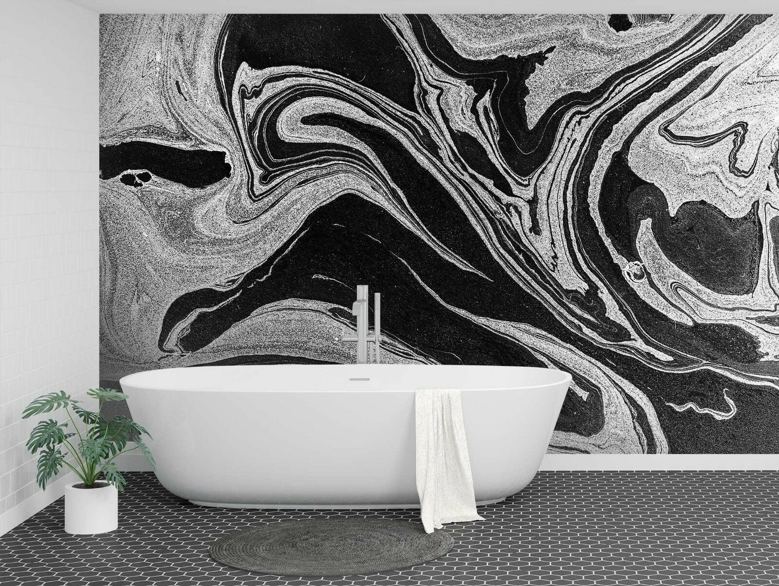 3D Abstract Turbulent 875 Texture Tiles Marble Wall Paper Decal Wallpaper Mural