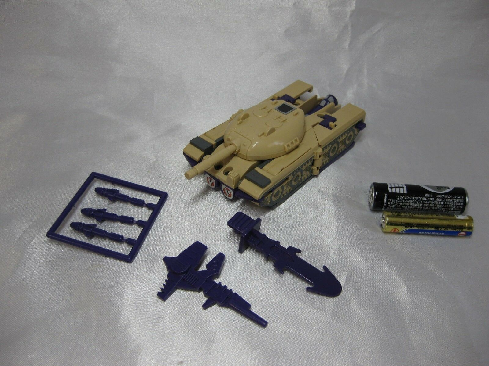 Very Rare trans formers G1 43 triple changer Blitzwing vintage 1984 from Japan