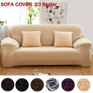 2-3-Seater-Stretch-Sofa-Cover-Couch-Lounge-Recliner-Chair-Slipcover-Protector