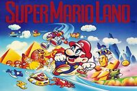 Super Mario Land - Classic - Wall Poster 30 In X 20 In - Fast Shipping