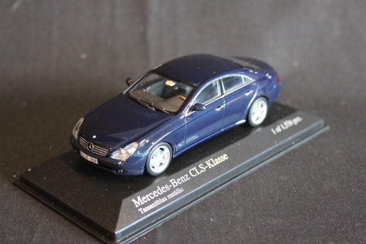 Minichamps Mercedes-Benz CLS-Klasse 2004 1 43 Tansanitblu (JS)