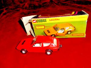 Corgi Original Modelos Lotus Elite 1 36 Nuevo en Embalaje
