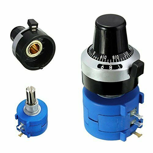 3590S-2-102L 1K Ohm Rotary Potentiometer Pot 10 Turn With Turn Counting Dial
