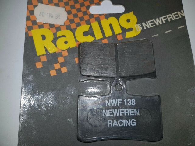 FD0198 PLAQUETTES DE FREIN AVANT NEWFREN HONDA RVF RR (RC 45) 7501994 - 1998
