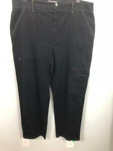 Chico-039-s-Black-Cargo-Pants-3-Stretch-36-38-Waist-30-Inseam-5-Pockets-Fast-Ship