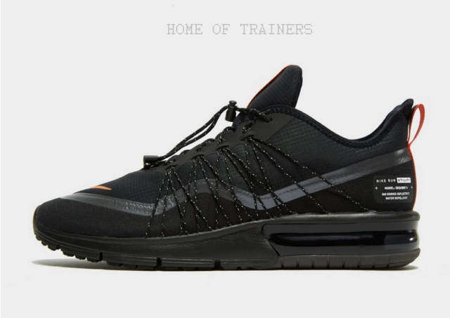 Nike Air Max Sequent 4 Utility Black Men's Trainers All Sizes