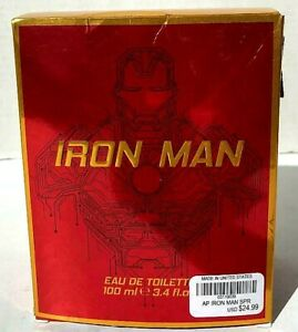 IRON-MAN-Marvel-eau-de-toilette-men-039-s-Fragrance-3-4oz-New-In-Box