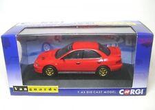 Subaru Impreza Turbo (UK Type D) bright red  1:43