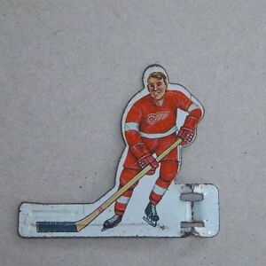 Coleco Eagle Hockey Detroit Red Wings Player 1960 S Table Top