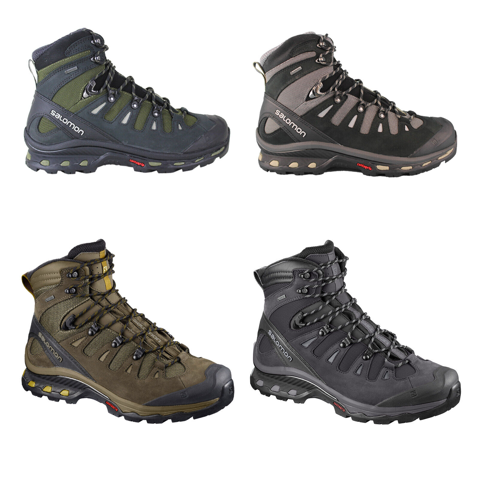 Gtx Boots Hiking Trekking Men's New Salomon 4d Quest Shoes SzVqUMp