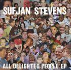 All Delighted People [EP] by Sufjan Stevens (Vinyl, Dec-2010, 2 Discs, Asthmatic Kitty)