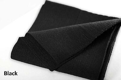Neotrims Knit Rib Cuff Waistband Welt Cuffing Fabric Lycra Stretch Cotton Sports