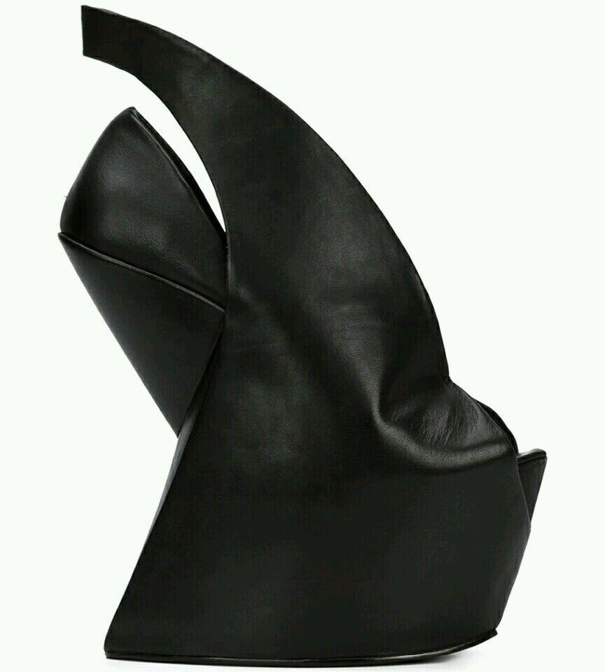 Wedges high heels peeptoe Gr. 46