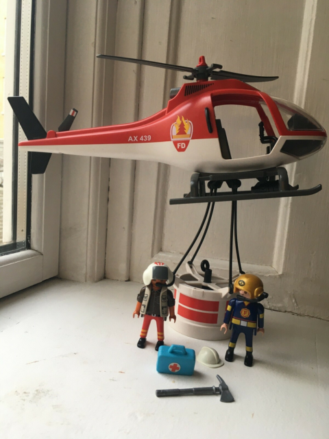 Playmobil, Helikopter, Fin stand.…