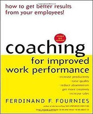 1 of 1 - Coaching for Improved Work Performance, Revised Edition-ExLibrary