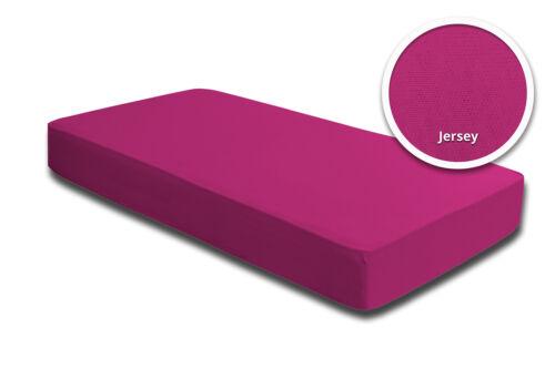 Spannbettlaken Babybett Kinder pink magenta 60 x 120 cm 70 x 140 cm Baumwolle