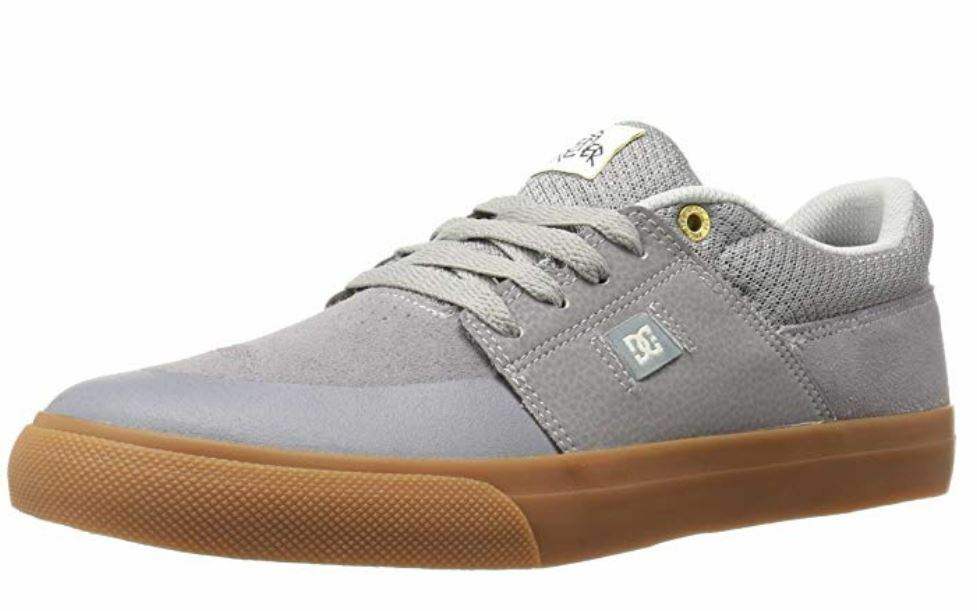 DC shoes WES KREMER  Mens Athletic Sneaker shoes 11 Grey Gum NEW in BOX