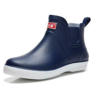 Mens Farm Low Top Shoes Waterproof Rain