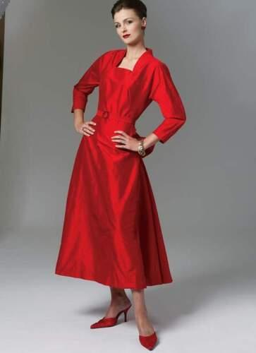 Motifs de coupe robe 1950 taille 38-44