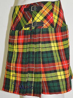 Cameron Tartan Billie Skirts 8 Pleated Active Modern Prime Modern Girls New Kilt