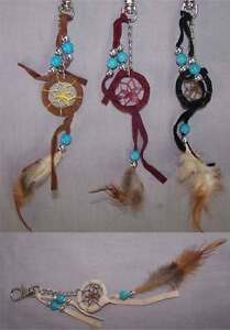 Details about Hand Made Tribal Dream Catcher Key Chains Wholesale 6 Pc Lot  ( NpDc217-6 ^*)