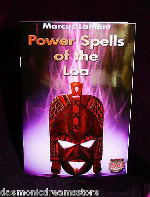 POWER SPELLS OF THE LOA. Marcus Lamont.  Finbarr Books Magick Occult Grimoire