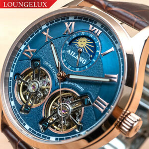 Mens-Double-Flywheel-Open-Heart-Luxury-Bling-Skeleton-Automatic-Mechanical-Watch