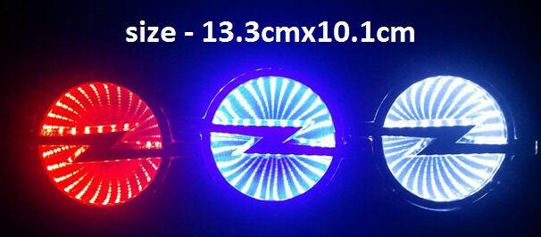 Light up Car Badges