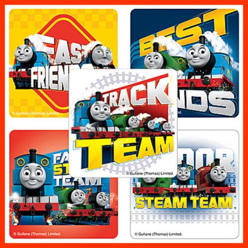 Steam Train Team Thomas the Tank Engine Stickers x 5 Birthday Favours Loot