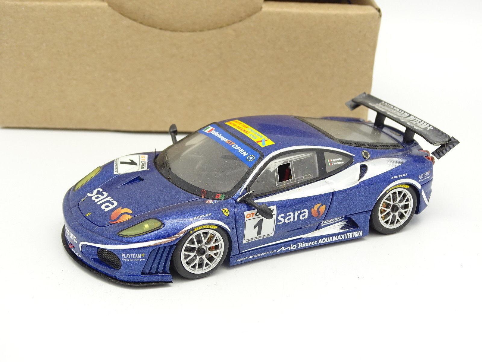 BBR Kit Monté Résine SB 1 43 - Ferrari F430 GT Open GT 2007 Playteam Car N1