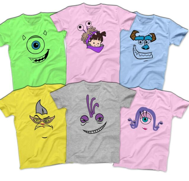 Pixar Monsters University Inc Toddler Blue Boys T Shirt Eye Mike Disney Print 4t For Sale Online Ebay