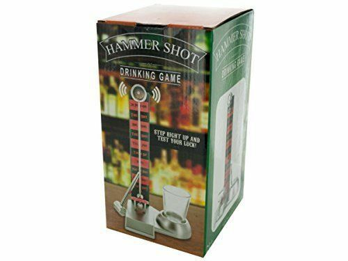 Hammer Shot Drinking Game 21+ Test Your Luck recommended for 2-6 players