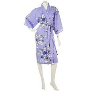Short Kimono giapponese Kimono Cotton giapponese Cotton Magnolia Magnolia Short Magnolia Short giapponese Kimono BxqdwZgB