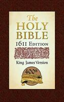 The Holy Bible King James Version 1611 Edition, New, Free Shipping on sale