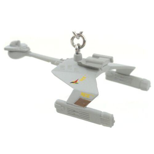 Klingon D7 Battle Cruiser Schlüsselanhänger Kampfkreuzer Klingonen Raumschiff