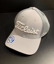 ddf2a5aa807 Titleist Golf Tour Mesh Trend Collection Fitted Hat Cap Gray White Xl xxl