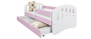 Jugendbett Kinderbett mit einer Schublade und Matratze 160x80 Lila TOP!!!