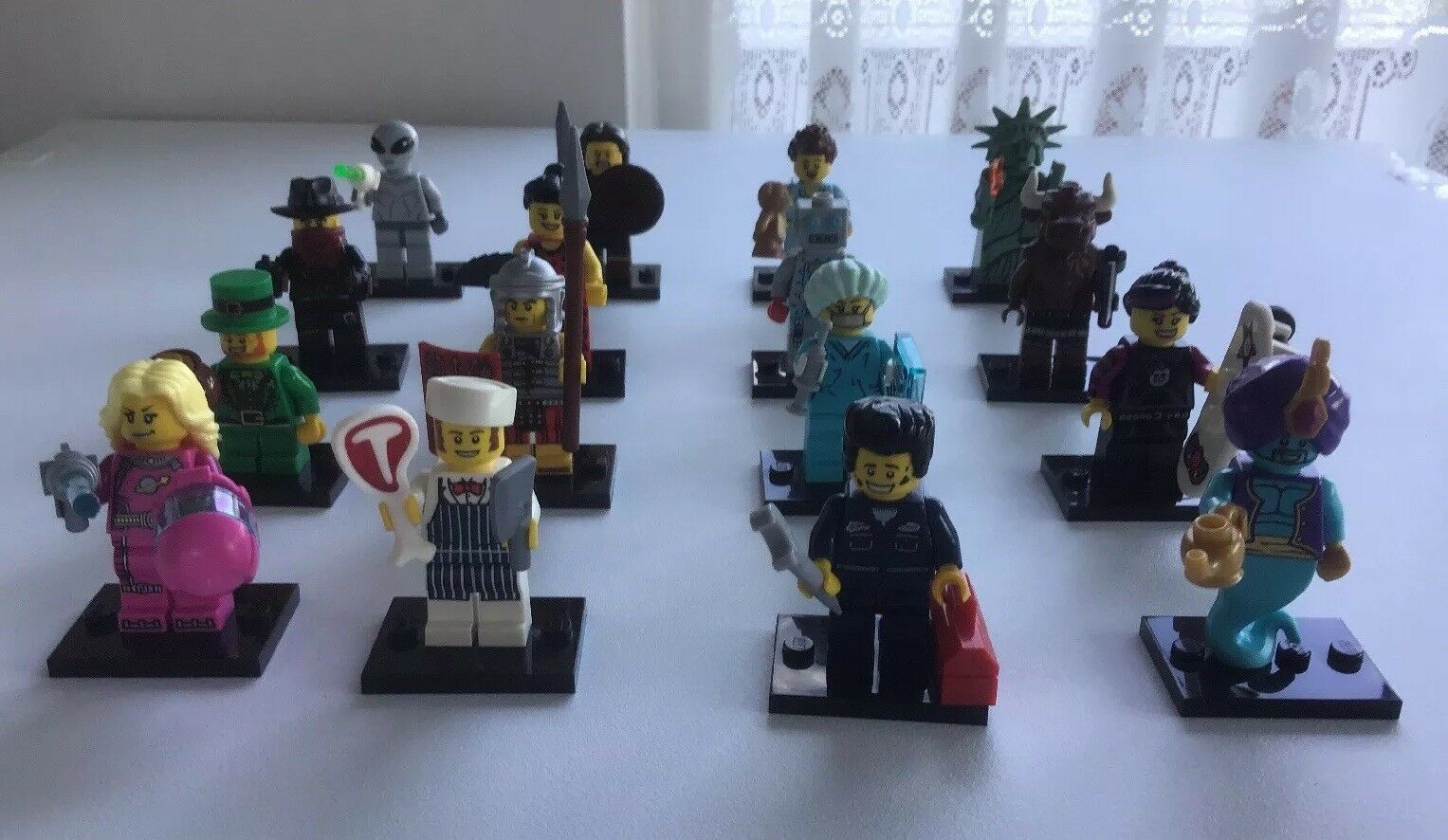 Lego Minifigures Series 6 Set 8827 Complete 16 Minifigs From 2012