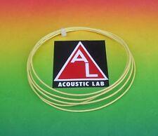 MUNDORF Silber/Gold Draht silvergold wire sgw105ye 0,5mm PTFE -1m- gelb /yellow