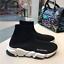 Women-039-s-Designer-Style-Knit-Speed-Sock-Runner-shoes-Men-039-s-Trainers-Sneakers-UK thumbnail 1
