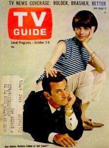 TV-Guide-1965-Get-Smart-Don-Adams-Barbara-Feldon-Clint-Eastwood-653-VG-COA