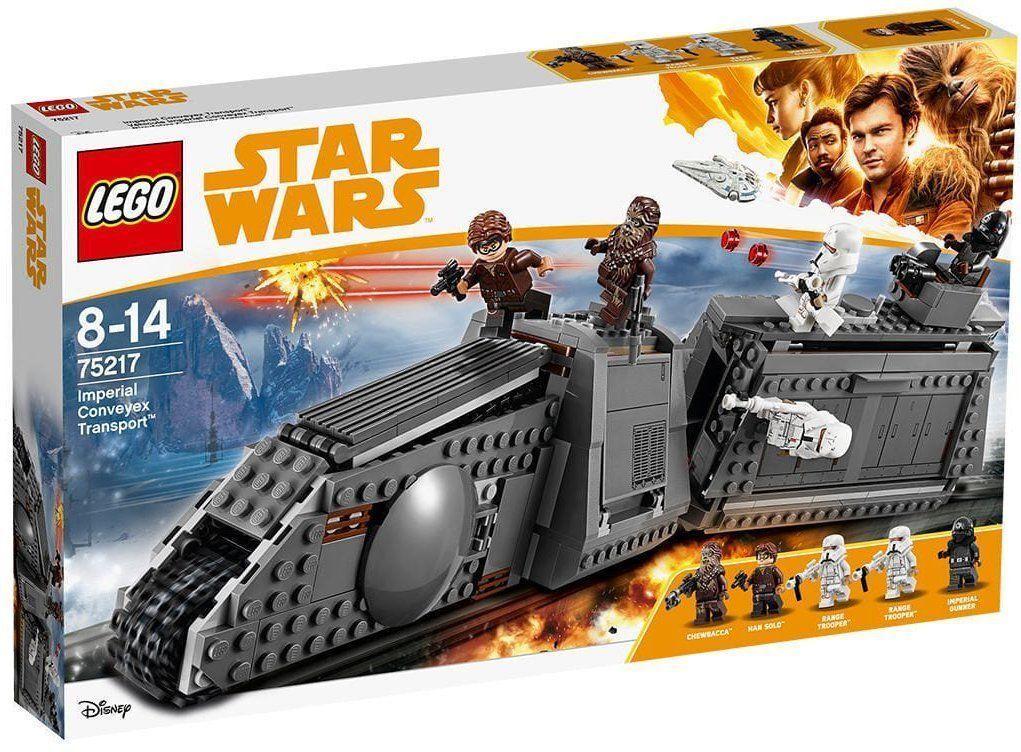 LEGO estrella guerras 75217 IMPERIAL  CONVEYEX TRANSPORT  NUOVO-nuovo- SIGILLATO  stile classico