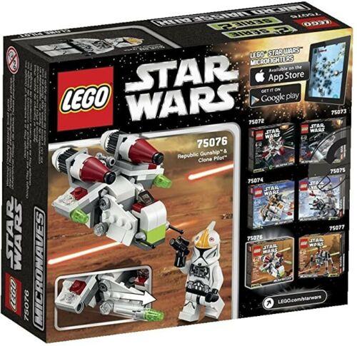 LEGO 75076 Republic Gunship Microfighter Star Wars Retired: Mint NIB