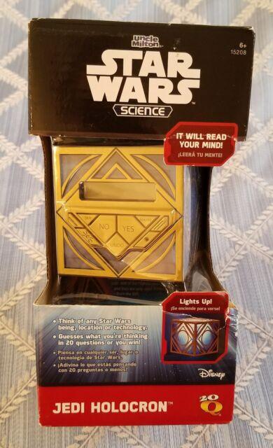 Uncle Milton Star Wars Science Jedi Holocron 20 Questions ...