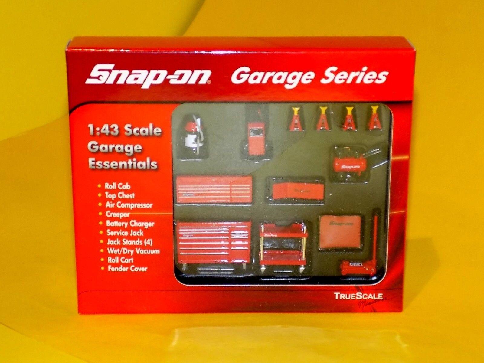 Snap-on échelle 1 43 garages Accessoires 10PCS Garage Series True Scale 07002 1 43