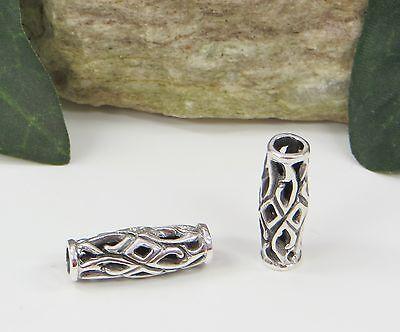 Bartperle, Lockenperle Keltische Silberperle Thorfinna, 925 Silber,NEU,Viking