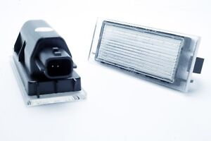 2x-LED-LICENSE-NUMBER-PLATE-LIGHT-RENAULT-CLIO-4-IV-GRAND-TOUR-CANBUS