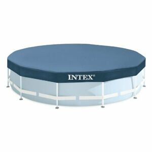 Intex-28032-Telo-Copertura-Per-Piscina-Rotonda-Metal-Frame-Fuoriterra-d-457