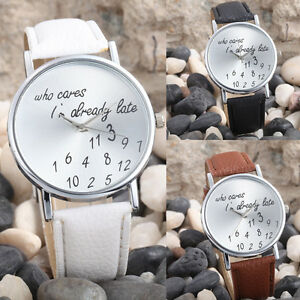 2017-Fashion-Women-Geneva-Watch-Leather-Band-Analog-Quartz-Wrist-Watch-UK-Stock